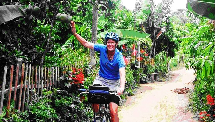 Cycling through rustic Mekong (full day) – Private tour