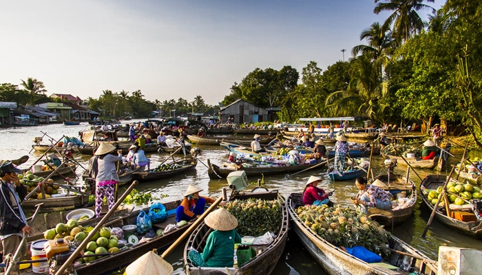 Ho Chi Minh City – Mekong Delta – Can Tho 02 days – Group tour